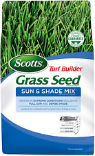 Scotts Turf Builder Grass Seed Sun and Shade Mix, 7 lb. - Full Sun and Dense Sha