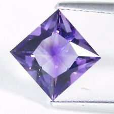 Faceted Amethyst Loose Gem Stone 20 Pieces 5mm to 7mm Natural Amethyst Princess Cut Faceted Cabochons BB394