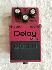Vintage Boss DM-2 Analog Delay Guitar Effects Pedal Made in Japan