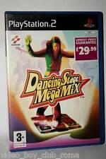 DANCING STAGE MEGA MIX GIOCO USATO SONY PS2 ED UK MANCA TAPPETINO GD1 36694