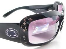 Penn State Nittany Lions Black Womens Crystal Fashion Sunglasses PSU 4JT