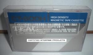 NEW TEAC CT-600H 60MB Data Cassette High Density Magnetic Tape CS-600HD WANG