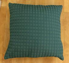 Teal Basket Weave Evans Lichfield Cushion Cover