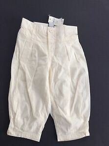 NWT Baby Gap Adorable Cream Colored Harem Type Pull Up Pants 12-18 Months