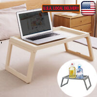 Portable Folding Laptop Desk Notebook Computer Table Stand Bed Sofa Tray Holder