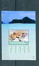 Palau 2014 MNH Frogs 1v S/S II Amphibians Luzon Fanged Frog Fauna