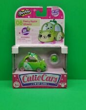 Shopkins Cutie Cars #08 Peely Apple Wheels  Mini Shopkin Brand