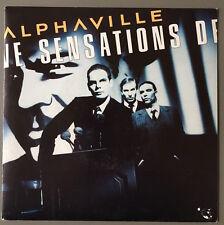 ALPHAVILLE - SENSATIONS - 7'' SINGLE 2 TRACKS FRANCE ONLY VINYL - WEA 248 518 7