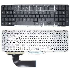 Fr HP 15-R150NU 15-R108NL 15-R221NS UK Black Laptop Keyboard with Frame New
