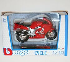 Burago - KAWASAKI NINJA ZX-7R (Red) - Motorcycle Model Scale 1:18