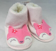 F&F Baby Girls Boots Booties Pink Box73 09 B