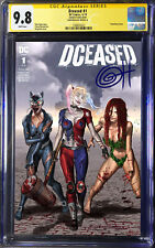 DCeased #1 A Cvr CGC 9.8 SS Signed by Greg Horn Art  ComicXposure Exclusive