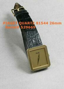 GENUINE PIAGET 18K SOLID YELLOW GOLD 26MM PROTOCOLE 81544 POLO DANCER QUARTZ