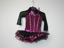 Curtain Call Costumes Dance Costume - Girls Small - Hot Pink - New