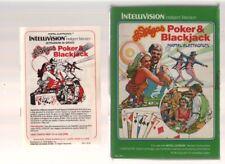 LAS VEGAS POKER & BLACKJACK (Video Game - Mattel Electronics - Intellivision)