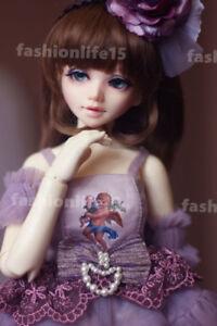 1/4 BJD Dolls Girl Unoa Lusis Resin Bare Doll + Eyes + Free Face Makeup
