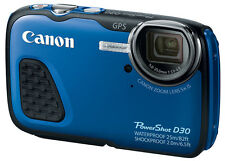 "Canon Powershot D30 Underwater Camera 12.1mp 3"" Brand New Cod Jeptall"