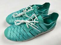 Merrell Women's Flora Kye Weave Sneakers Size 9 Turquoise Green Sport Shoes NWOB