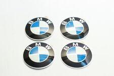 BMW Wheel Center Cap Emblem 64.5mm Set 4 PCS NEW Genuine  36131181080