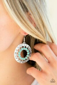 Paparazzi ~ Organically Omega ~ Blue Earrings ~ *NEW RELEASE* ~ *WOW*