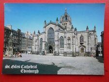 POSTCARD EDINBURGH ST GILES CATHEDRAL