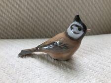 Royal Copenhagen Crested Tit Bird #1506 Figurine Denmark