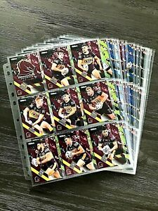 2021 NRL TRADERS COMPLETE 160 COMMON TRADING CARDS WITH SLEEVES