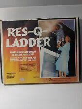 Res-Q-Ladder 14' - 2 Story Escape Ladder Fire Escape Safety Ladder All Steel