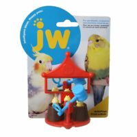"LM JW Pet Activitoys Peck-A-Mole Plastic Bird Toy  3"" Wide x 4"" High"