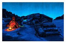 STAR Wars Forza si sveglia Io sono nessuno Notte Stampa Mondo artista TIM Doyle S/N/350