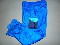 80er Jahre Nylon Glanz Hose Regenhose Trainingshose jogger shiny oldschool XL