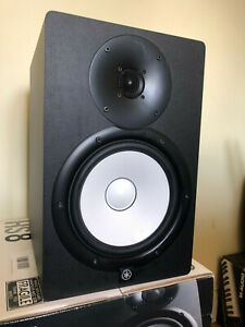 Yamaha HS8 Studio Monitor Speakers x2
