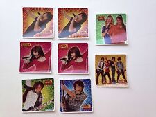 Disneys Camp Rock Lot of 8 Stickers Party Favors Demi Lovato Jonas Brothers