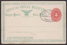 MEXICO, 1891. Post Card H&G 91, Barranca de Oro