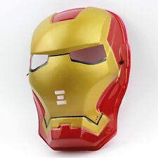 Vestido de lujo Iron Man Máscara Mascarada Super Héroe Máscara , niños de partidos