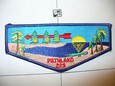 OA Pilthlako Lodge 229,S-24,1996 Standard Flap, Okefenokee Swamp,119 I Tsu La,GA
