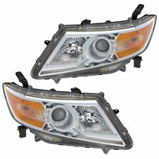 NEWMAR LONDON AIRE 2014 2015 HEADLIGHTS HEAD LIGHTS LAMPS RV - SET