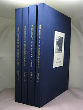 1st,signed by author,The Library of Dr Roger K Larson,HB auction catalogs I - IV