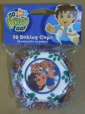 Go Diego Go Nick Jr. Wilton Brand Baking Cups Cup Cakes New Unopened 50 in Pkg