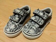 Vans New Old Skool Molo Skate Check Vault Toddler Size USA 5