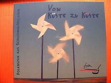 CD da costa a costa/folk musica proveniente da Schleswig Holstein 2cd Sampler