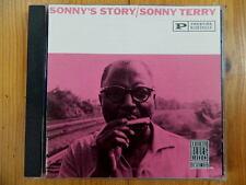 Sonny Terry - Sonny's Story J.C. BURRIS STICKS MCGHEE BELTON EVANS Prestige RAR!