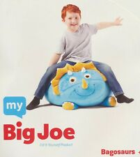 "My Big Joe Bagosaurs Kids Floor Pillow Bean Bag Beanbag 24"" x 22"" x 18"""