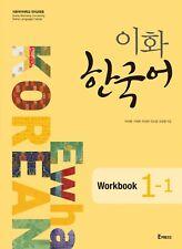 Ewha Korean Language Workbook 1-1 With CD Korea Textbook English Version