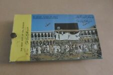 SAUDI ARABIA THE BEST GIFT OF  36 COLOR SLIDES OF HOLY HAJ SEASON IN MAKKAH RARE