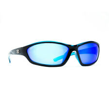 Calcutta Backspray Shiny Black Blue Mirror