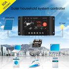 10/20/30A Waterproof Solar Panel Controller Battery Charger Regulator 12v/24v HQ