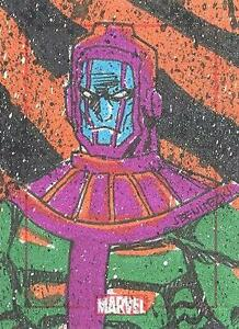 Marvel 75th Anniversary Color Sketch Card Kang The Conqueror Jeffrey Benitez