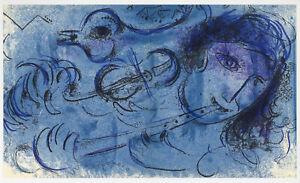 Marc Chagall original lithograph 9101471
