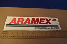 """Formula 1 - Original Large """"Aramex - International Courier"""" Patch New NOS Rare!"""